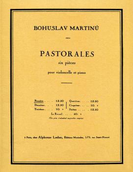 6 Pastorales - H190, No. 1 (Cello and Piano) (HL-48180509)