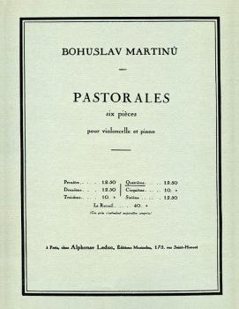 6 Pastorales - H190, No. 4 (for Cello and Piano) (HL-48180510)