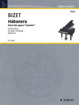 Habañera (from the Opera 'Carmen' Piano 4 Hand) (HL-49046005)