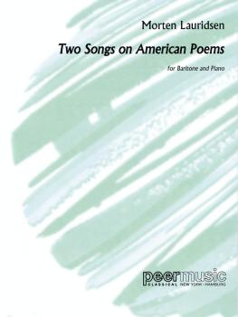 2 Songs on American Poems (Baritone and Piano) (HL-00229399)