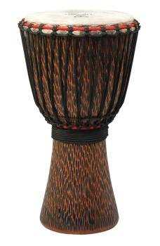 10 inch. Supremo Select Chiseled Orange Series (Rope-Tuned Djembe) (HL-00266963)