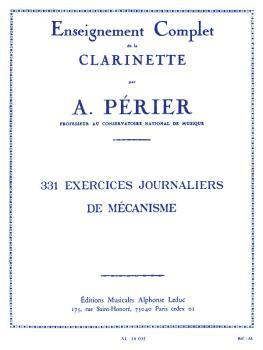 331 Exercises Journaliers de Mécanisme pour la Clarinette: [331 Daily  (HL-48180526)
