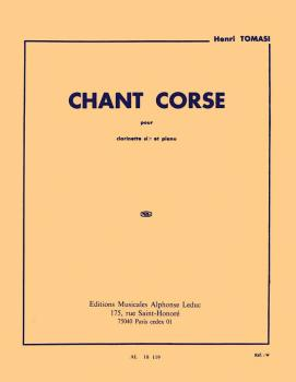Chant Corse (for Clarinet and Piano) (HL-48180541)
