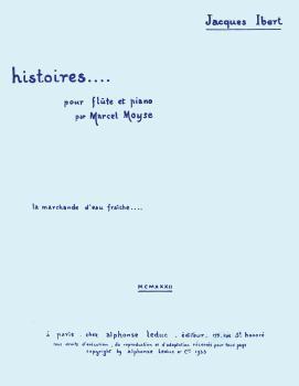 La Marchande D'eau Fraiche (for Flute and Piano) (HL-48180551)