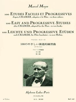 100 Easy and Progressive Studies After Cramer for Flute (Volume 2) (HL-48180568)