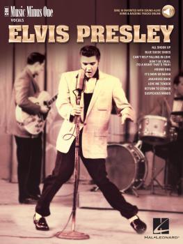Elvis Presley: Music Minus One Vocals 10 Favorites with Sound-Alike De (HL-00279891)