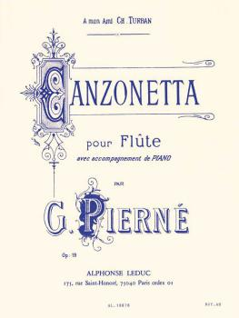 Canzonetta Op. 19 (for Flute and Piano) (HL-48180699)
