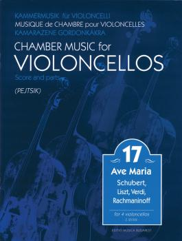 Chamber Music for Violoncellos (Volume 17 4 Cellos) (HL-50601460)