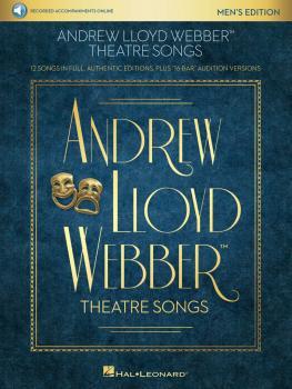 Andrew Lloyd Webber Theatre Songs - Men's Edition: 12 Songs in Full, A (HL-00268899)