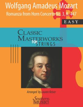 Romanza from Horn Concerto No.3, K447 for String Orchestra (Score and  (HL-00275641)