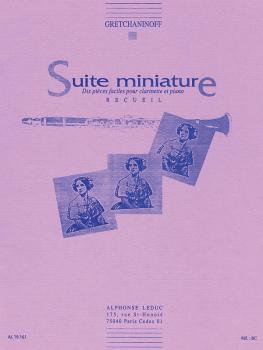 Suite Miniature Op 145 - Chanson d'Aurore (for Clarinet and Piano) (HL-48180766)