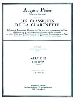 Melodie - Classiques No. 15 (for Clarinet and Piano) (HL-48180805)