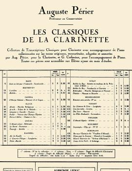 L'Auberge Op. 82, No. 6 - Classiques No. 140 (for Clarinet and Piano) (HL-48180816)