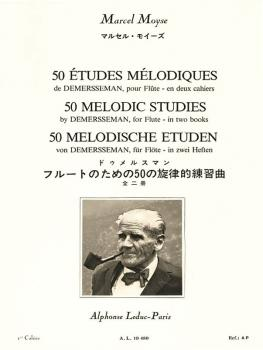 50 Melodic Studies After Demersseman, Op. 4 - Volume 1 (for Flute) (HL-48180850)