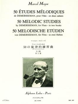 50 Melodic Studies by Demersseman for Flute - Volume 2 (HL-48180851)