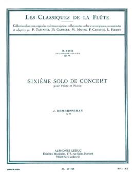 Concert Solo No. 6, Op. 82 - Les Classiques de la Flute No. 74 (for Fl (HL-48180853)