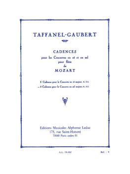 3 Cadences for Mozart's Flute Concerto in G Major (HL-48180856)