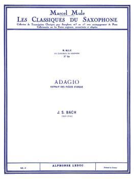 Adagio - Classiques No. 18 (for Alto Saxophone and Piano) (HL-48180876)