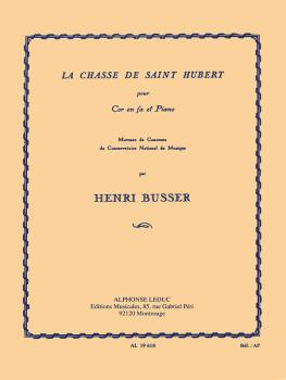Hunting Saint Hubert (for French Horn and Piano) (HL-48180887)