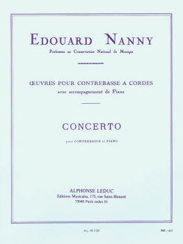 Concerto in E minor (for Double Bass and Piano) (HL-48180921)