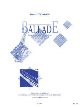 Ballade (for Alto Saxophone and Piano) (HL-48180936)