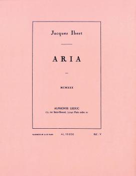 Aria (for Clarinet and Piano) (HL-48180954)