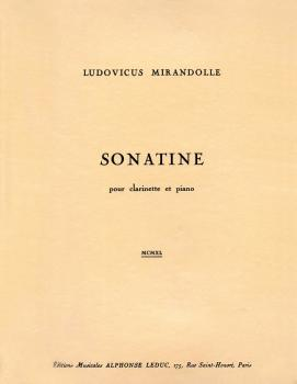 Sonatine (for Clarinet and Piano) (HL-48180982)