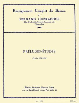 Préludes-Etudes - d'Apres Cokken (for Bassoon) (HL-48181002)