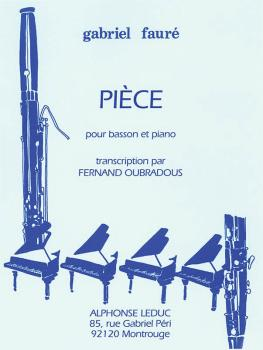 Piece (for Bassoon and Piano) (HL-48181004)