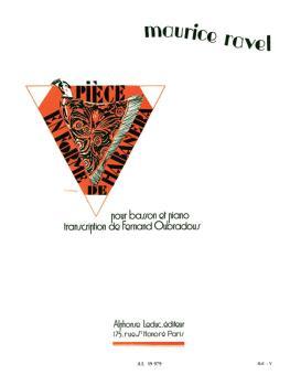 Pièce en Forme de Habanera (for Bassoon and Piano) (HL-48181006)
