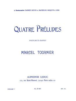 Four Preludes for Two Harps - Volume 1 (HL-48181036)