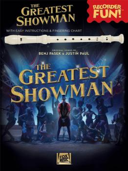 The Greatest Showman - Recorder Fun! (with Easy Instructions & Fingeri (HL-00285228)