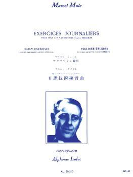 Exercices Journaliers d'Apres Terschack Tous Saxophones (HL-48181078)