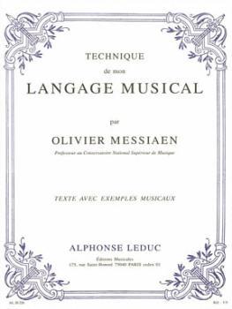 Technique de Mon Langage Musical - Version Francais (HL-48181088)