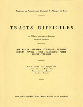Traits Difficiles (for Oboe) (HL-48181095)