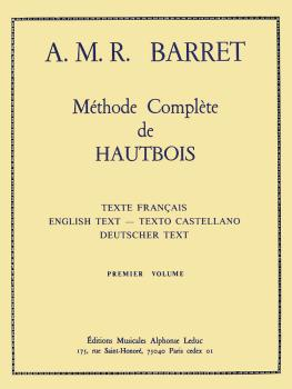 Méthode Complete de Hautbois - Premier Volume (for Oboe) (HL-48181138)