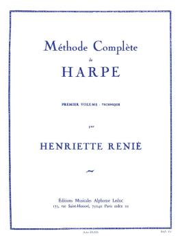 Méthode Complete de Harpe - Premier Volume (Technique) (HL-48181139)