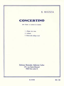 Concertino Op. 49 (for Bassoon and Piano) (HL-48181146)