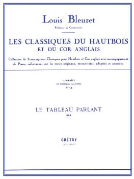Le Tableau Parlant - Classiques No. 13 (for Oboe and Piano) (HL-48181154)