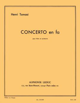 Concerto in F Major (for Flute and Piano) (HL-48181161)