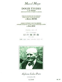 Douze Etudes de Boehm (for Flute Solo) (HL-48181167)