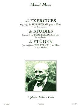 26 Studies (Op. 107) de Furstenau, pour la Flute - Vol. 1 (HL-48181176)