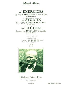 26 Exercices (Op. 107) de Furstenau, pour la Flute - Vol. 2 (HL-48181177)