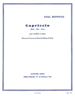 Capriccio (for Trombone and Piano) (HL-48181187)