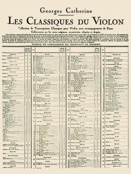 Ariette - Classiques No. 388 (for Violin and Piano) (HL-48181205)