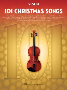 101 Christmas Songs (for Violin) (HL-00278644)