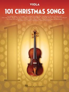 101 Christmas Songs (for Viola) (HL-00278645)