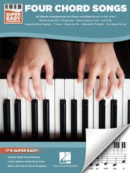 Four Chord Songs - Super Easy Songbook (HL-00249533)