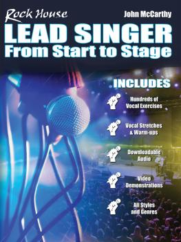 Rock House Lead Singer: Complete Course for All Singers (HL-00281651)