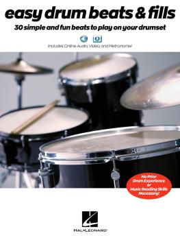 Easy Drum Beats & Fills: 30 Simple and Fun Beats to Play on Your Drums (HL-00233425)